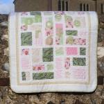 Girls cot quilt