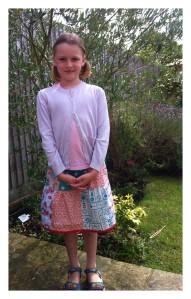 Quilty Pleasures Amelia patchwork skirt