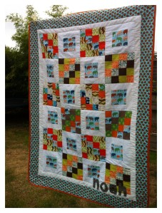 Quilty pleasures Noah Cot Bed quilt